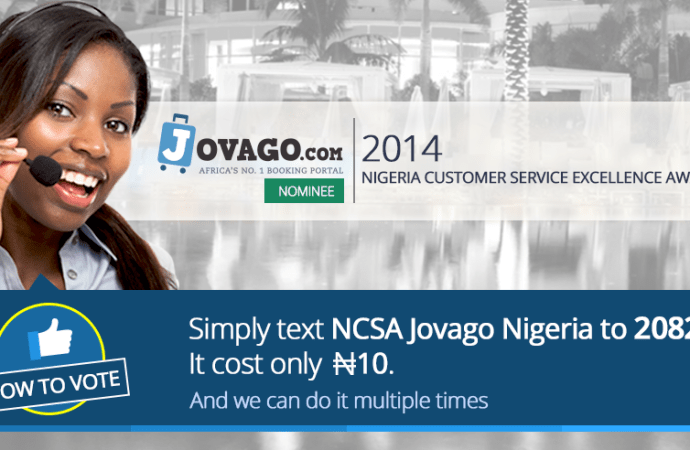 Jovago.com Nominated As 'Best Online Hotel Booking Company' in Nigeria