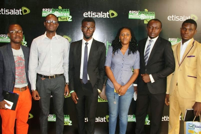some of the winners of Etisalat Easybusiness Millionaire Hunt season 1