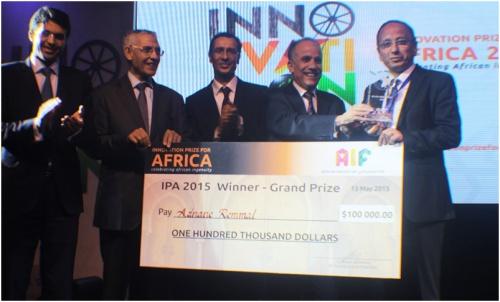 Adnane Remmal Clinches Innovation Prize for Africa's $100k Grand Prize