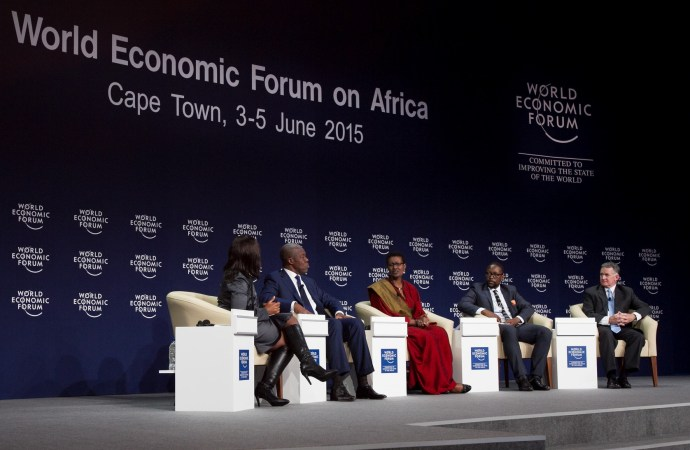 The Future of Africa is Self-Employment and Creativity – WEF Africa 2015