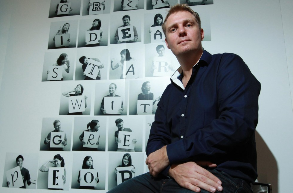 Nest Founder and CEO Simon Squibb
