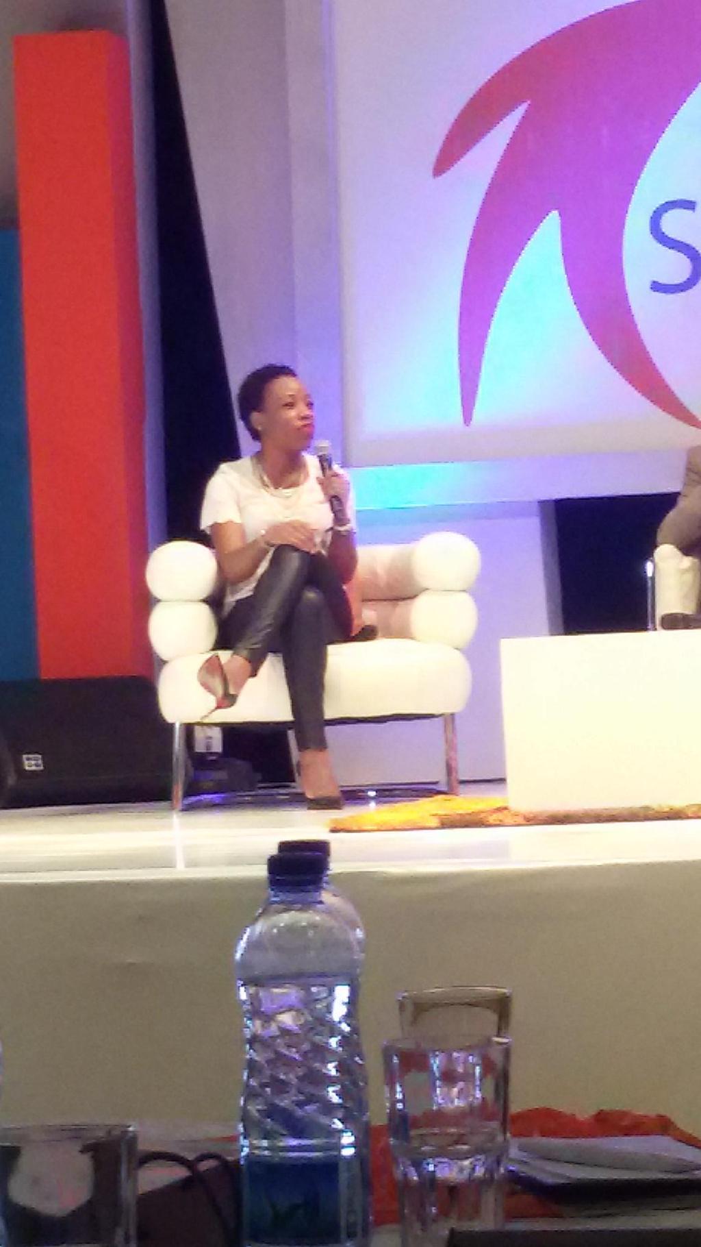 Ebi Atawodi on the Panel