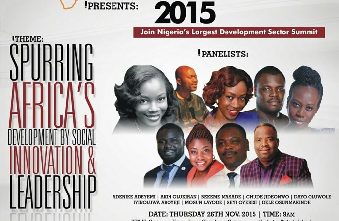 Development dialogue on Social Innovation and Leadership in Africa to hold in Lagos