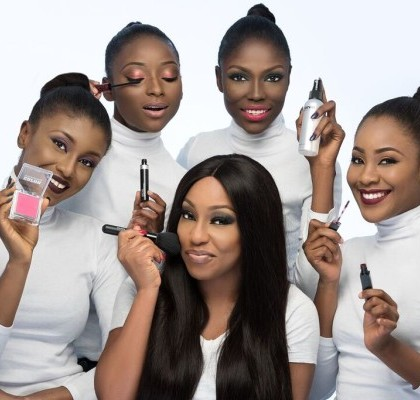 Zaron ambassador, Rita Dominic and models