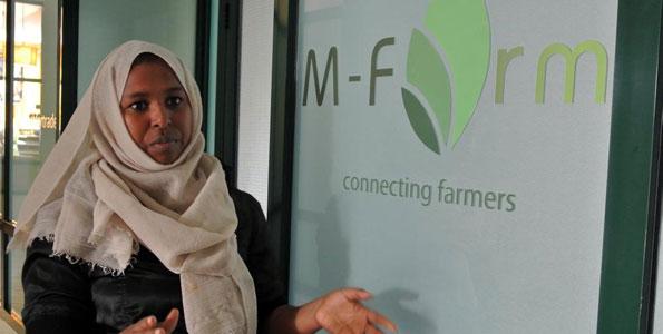 Jamila Abass; Founder of M-Farm
