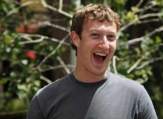 Facebook founder, Mark Zuckerberg is live at Cchub!