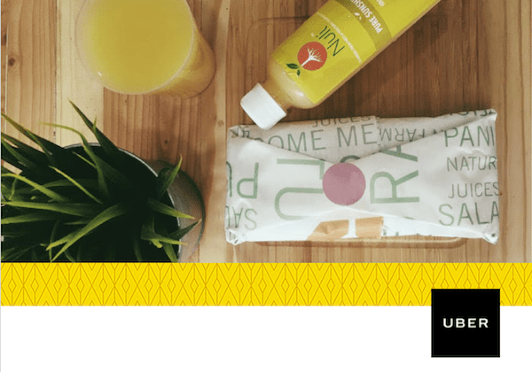 Uber supports Nuli Juice with free delivery service