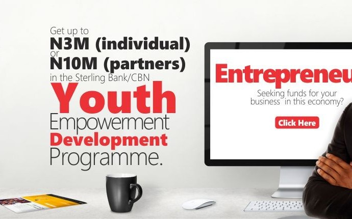 Sterling bank youth entrepreneurship development program: Apply now!