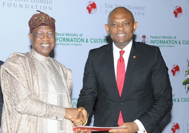 Tony Elumelu Foundation signs MoU to invest $100m in the Nigerian creative industry