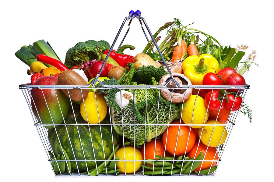 entrepreneur Shopping-Basket-Fruit-And-Vege-13789097