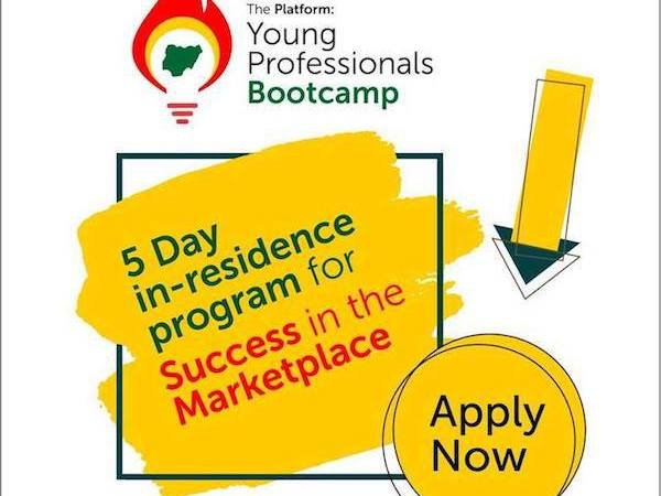 Apply for Young Professionals Bootcamp by The Platform Nigeria