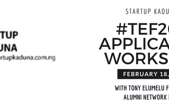 Are you a female entrepreneur? Register to attend Startup Kaduna TEF application workshop