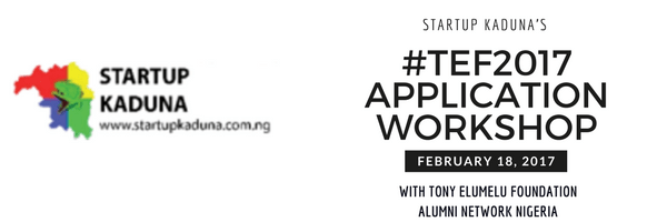 Are you a female entrepreneur? Register to attend Startup Kaduna TEF application workshop