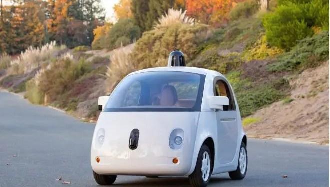 google self-driving autonomous car
