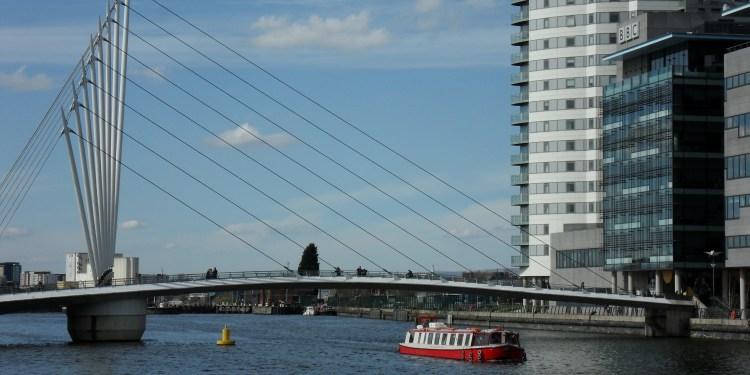 smart city manchester building