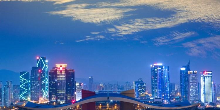 shenzhen china smart city