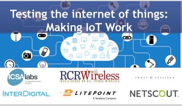 Testing IoT Internet of Things