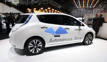 nissan autonomous vehicle
