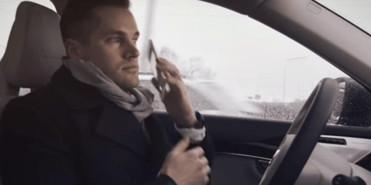 autonomous driving volvo 5G