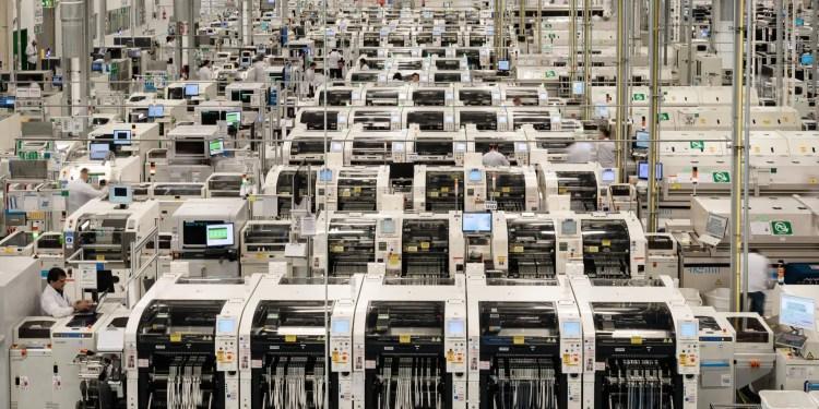 industrie 4.0 Bosch gafam usine