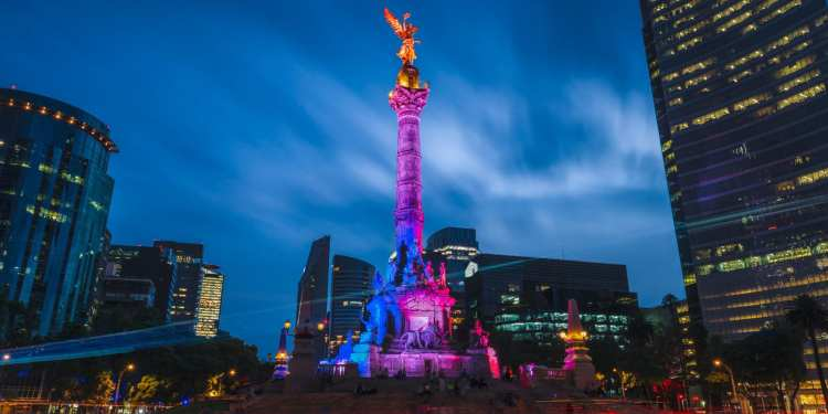 The Angel of Independence in Mexico City, Mexico. (Image: 123rf.com)