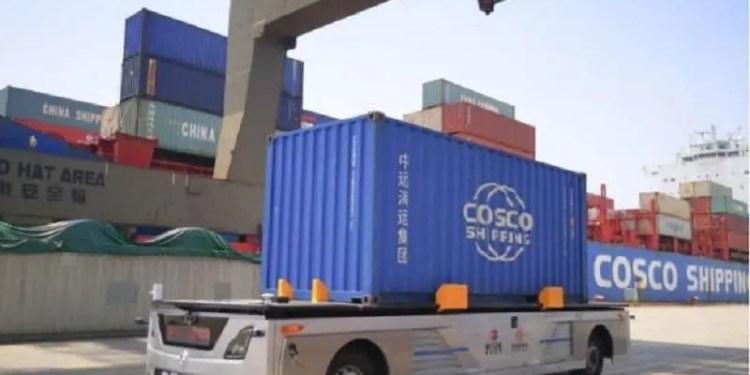 China smart ports
