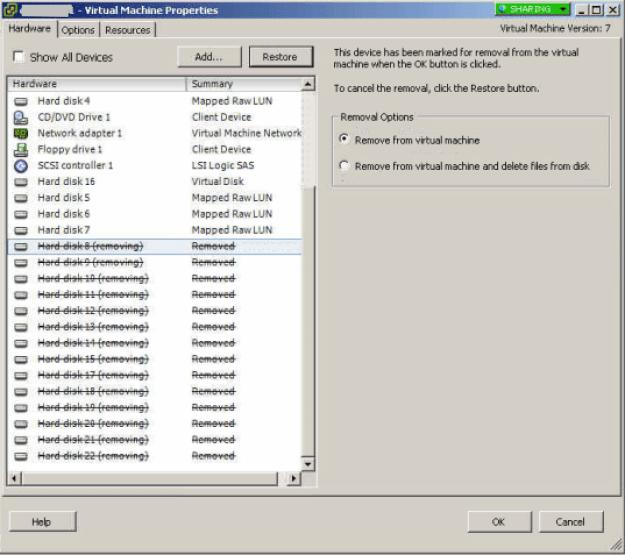 Remove_Erroneous_VMWare_Virtual_Disks