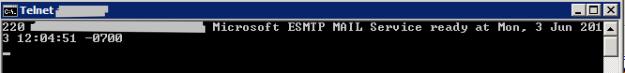 Telnet_Session_Port_25_to_Mail_server
