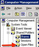 open-files-list