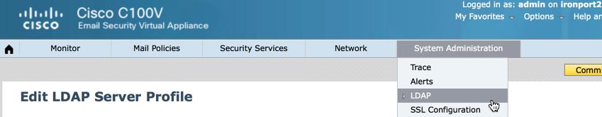 ironport ldap active directory