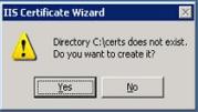 create-certs-directory