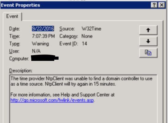 ntpclient-unable-to-find-domain-controller-time-source