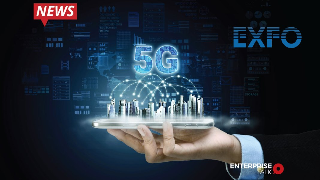 EXFO, 5G service delivery, intelligent network automation platform