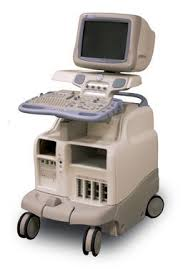 GE Vivid 7 ultrasound machine no LCD