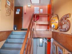 Escalier du dortoir