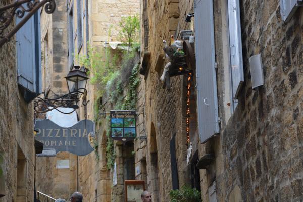 Sarlat streets - winding and romantic