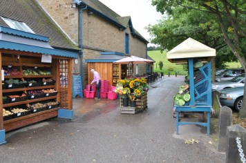 Exterior of farm shop