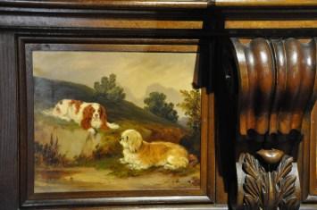 Paintings in the Oak Room