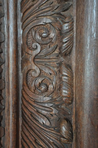Oak Carving Detail