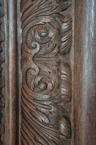 Oak Carving Detail