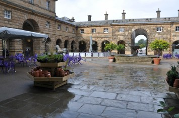 The courtyard in the Stables