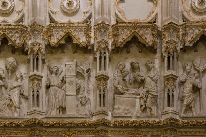 Toledo Cathedral screen