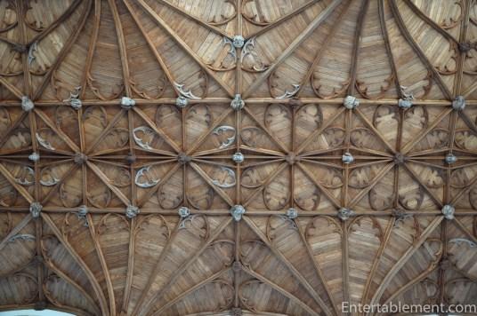 Ceiling detail in Fitzalan Chapel