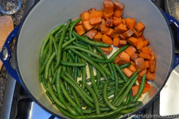 Add the Green Beans