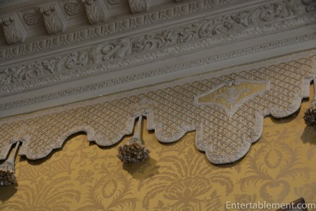 Lovely silk wallhanging and trim