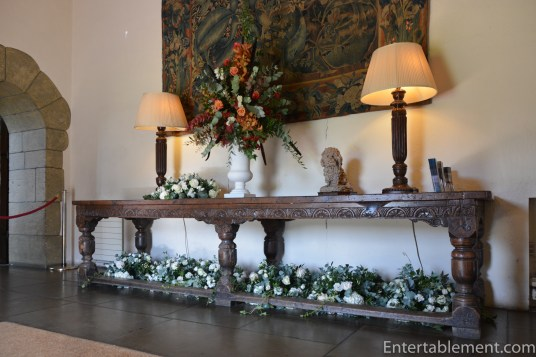 Console table in the hall