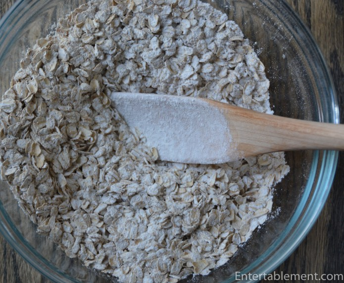 Add the oat mixture