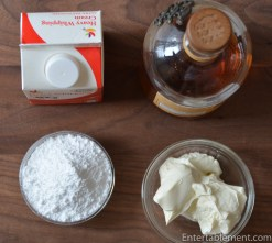 Assemble the cream ingredients