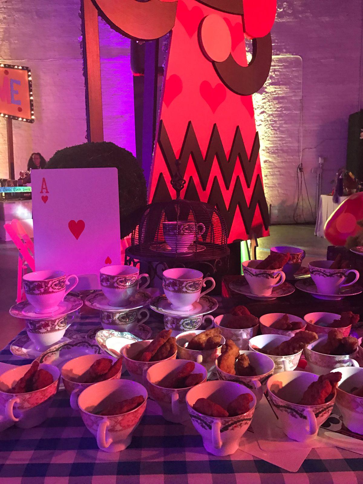 Corporate Holiday Party Tim Burton Themed Entertaining