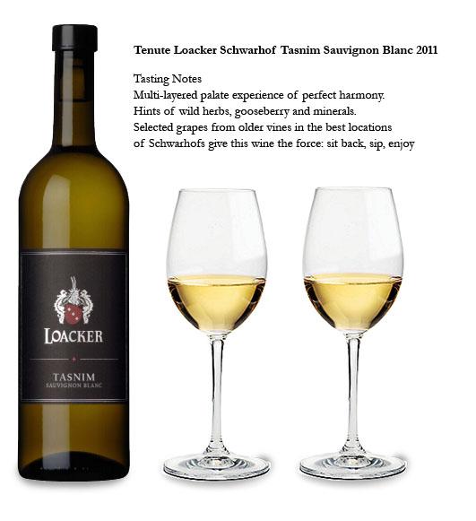 Tasnim Sauvignon blanc w glasses